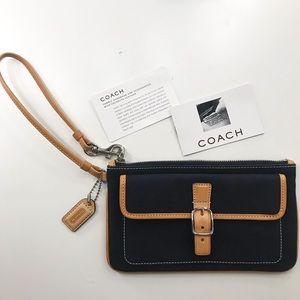 Vintage Coach Wristlet / Clutch